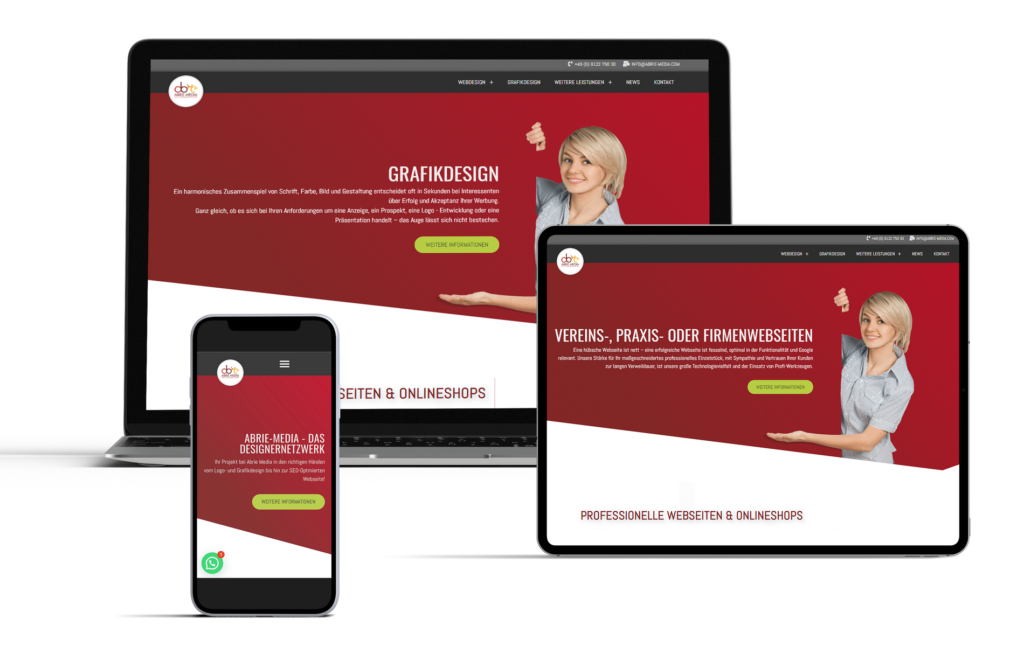 Webdesign Abrie-Media